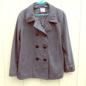 Old Navy wool blend pea coat size XL